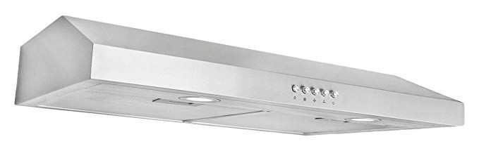 Cosmo Cos 5u30 30 In Under Cabinet Range Hood With Push Button Controls Led Lighting And Long Lasting Filters Review Range Hood Under Cabinet Range Hoods