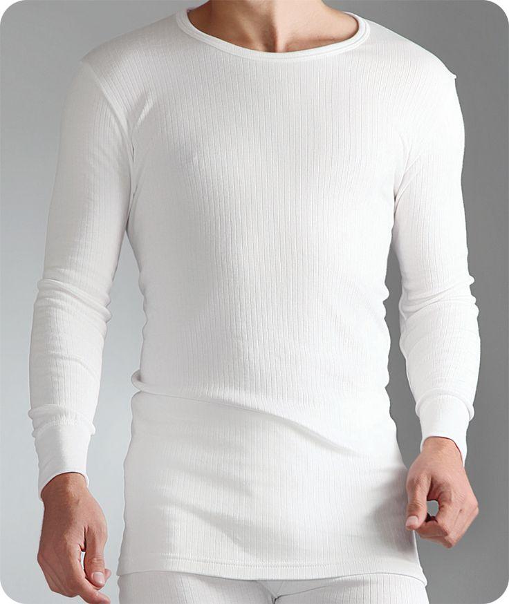 Mens Thermal Long Sleeved Vest