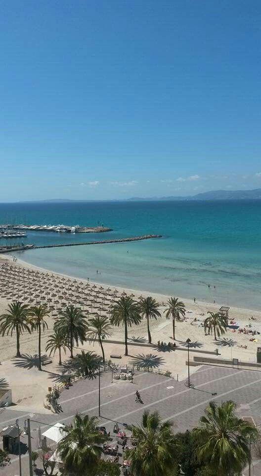 Beach El Arenal Mallorca 04.27.16