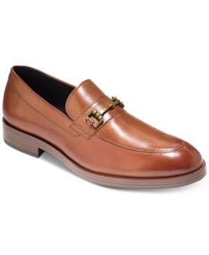 Cole Haan Men's Henry Grand Bit Loafers - Brown 11.5
