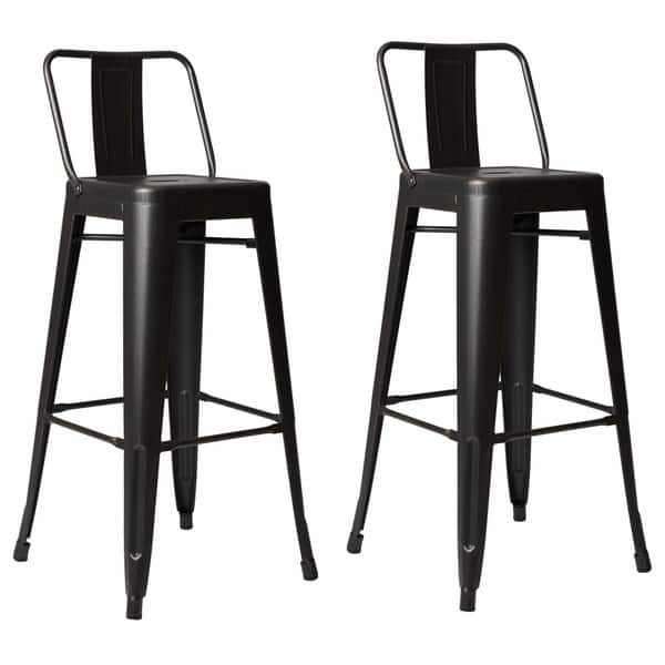 Steel 30 Inch Bar Stool (Set of 2)