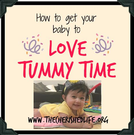 Tummy Time Trouble – #blogcember day 8 – The Cherished Life