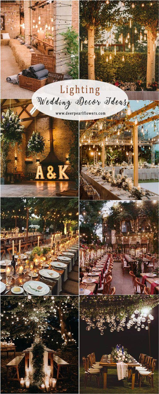 Rustikales Land Hochzeit Ideen Hochzeit Beleuchtung Dekor Ideen Hochzeiten Hochzeit Wedding Lights Rustic Country Wedding Lights Wedding Decor