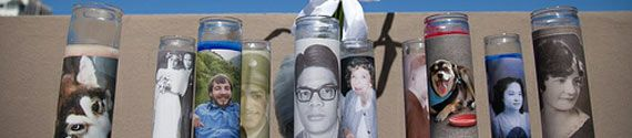Print photos of your lost loved ones for your memorial candles