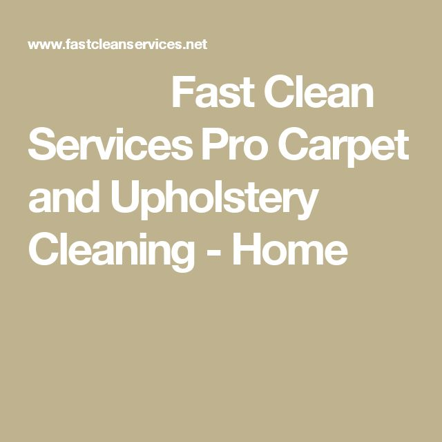 1000 Ideas About Upholstery Cleaning Services On