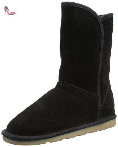 Les Tropéziennes par M. Belarbi Carmen, Bottes de Neige femme, Noir, 38 EU - Chaussures les tropziennes par m belarbi (*Partner-Link)