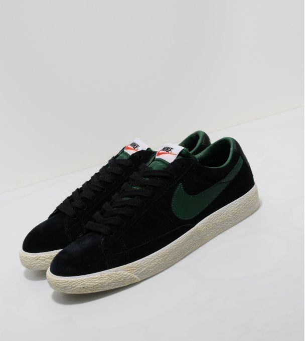 Nike Formateurs Blazer En Daim Gris Bordeciel