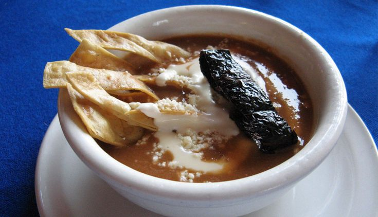 Sopa tarasca. Image from the blog My Mexican Kitchen.