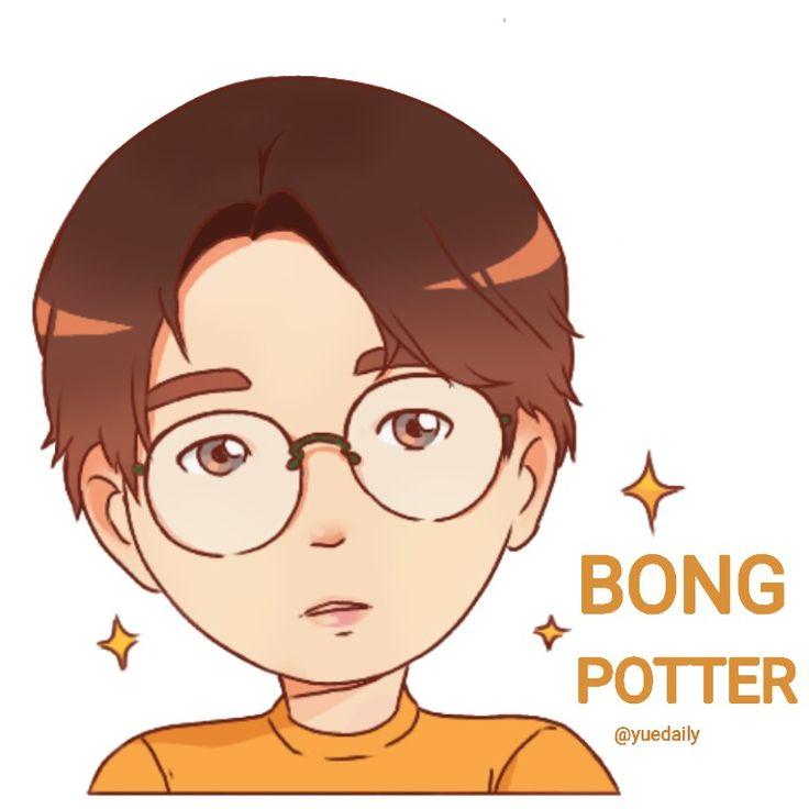 Bong jaehyun bong potter golden child fanart