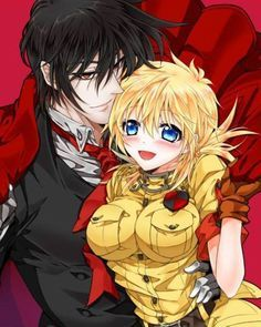 94 Best images about Hellsing : Alucard x Seras on ...