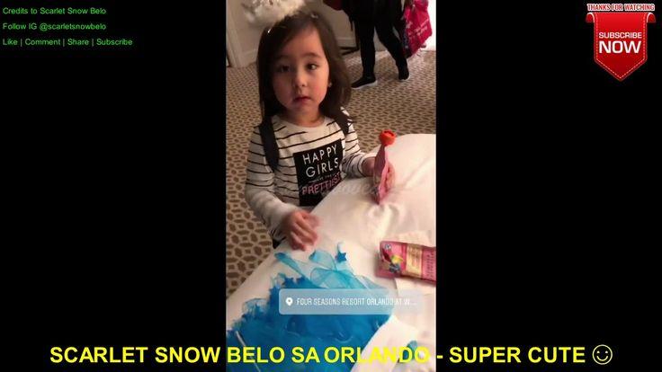 SCARLET SNOW BELO JUST ARRIVED IN ORLANDO - BIZ BITES