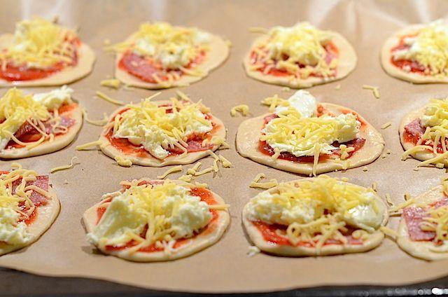 Mini Pizza's maken