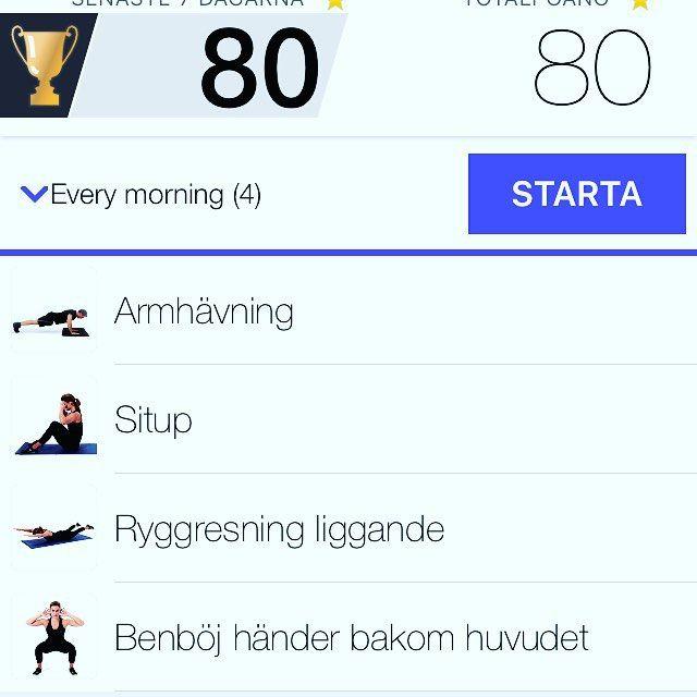 New app in!! Rolig och enkel intervallträning hemma. Just provat och det va svettigt  #virtualtrainerbodyweight#träna#tabata#hiitworkout by lisengrrr