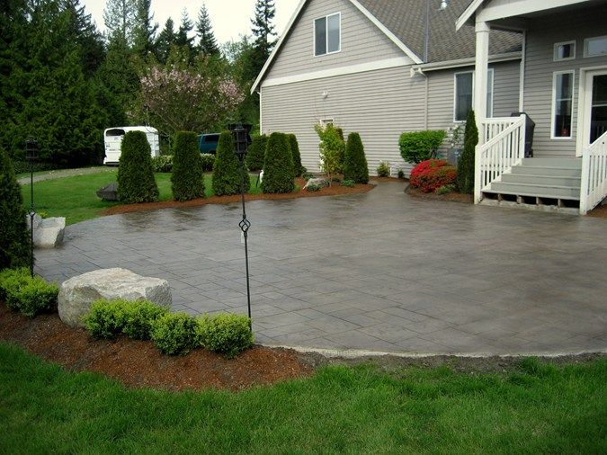 97 best images about Patio Ideas on Pinterest   Fire pits ... on Patio Surfaces Ideas id=52044