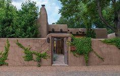 Adobe Oasis   Casas de Santa Fe   Furnished Vacation Rental in Santa Fe New Mexico Luxury vacation home rental in Santa Fe New Mexico