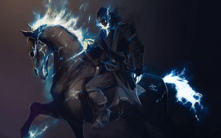 Ghost Rider. Fire HorseFantasy ...
