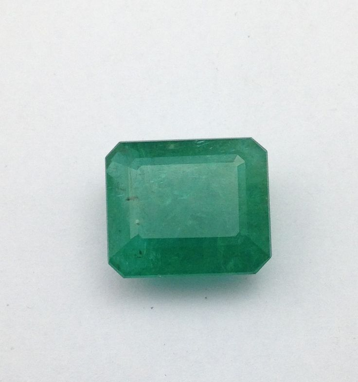 Big Size Natural Emerald-20.65 cts Natural Panna-Big size Octogon Shape Emerald Cut Unprocessed Emerald- Gemstone for  good Fortune by TRUTHFINEJEWELLERS on Etsy