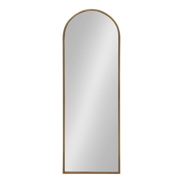 16x48 valenti tall framed arch mirror gold kate and