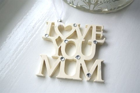 Love You Mum - Divine Shabby Chic