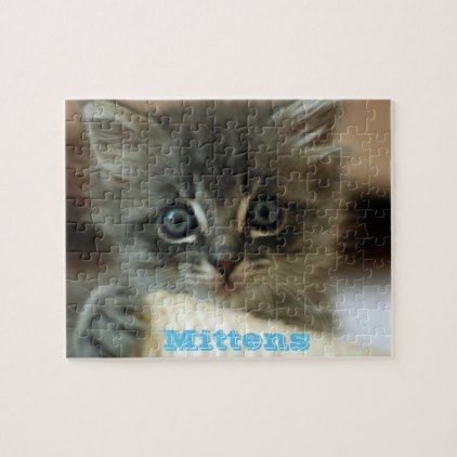 Custom Photo Personalized Your Image & Text Jigsaw Puzzle - home decor design art diy cyo custom