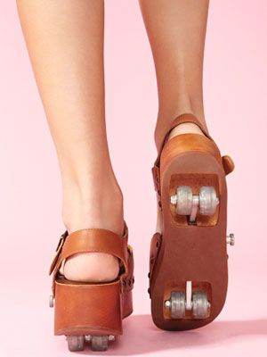 rollin platforms: Rollerskate Shoes, Fashion, Rollin Platform, School, Style, Clothes, Platform Shoes, Things