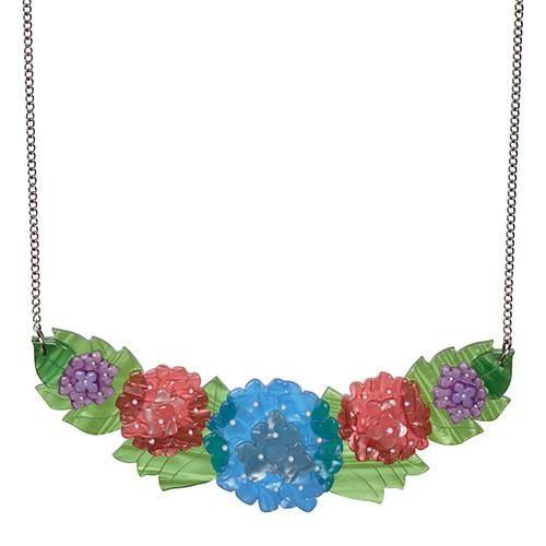 Harmonious Hydrangea  Necklace (EW online Jun17)