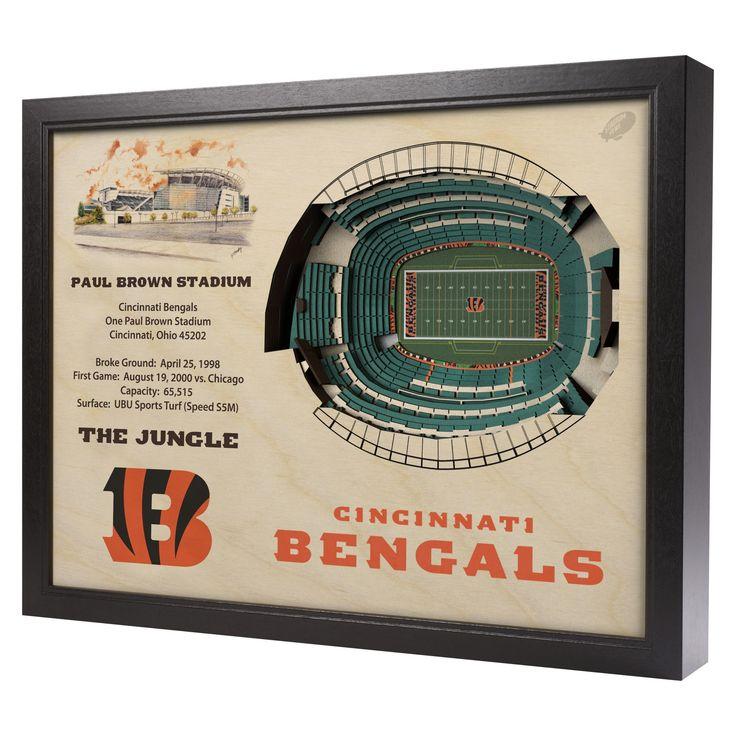 NFL Cincinnati Bengals StadiumViews Wall Art - Paul Brown Stadium