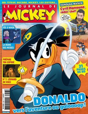 Le Journal de Mickey 3207 (December 4, 2013)