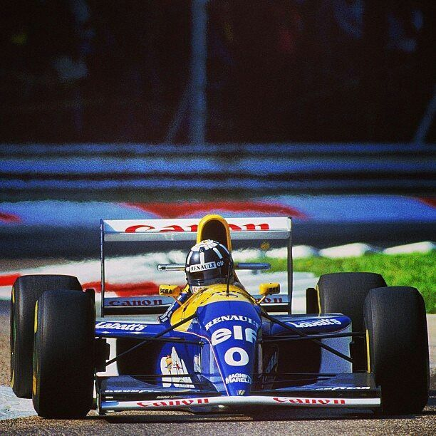 Damon Hill/ Williams-Renault/ Gp Italia 1993