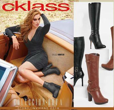 Botas Cklass Otoño Invierno. Hojea multiples botas de mujer de ultima moda. La colecciones incluye botas y botines en variedad de colores y modelos