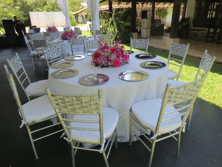 Decoración mesas para bodas.