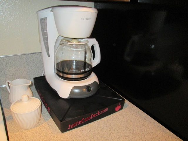 Keurig Coffee Maker Overflows : 590 best images about Justin Case Deck on Pinterest The floor, Decks and Band rooms