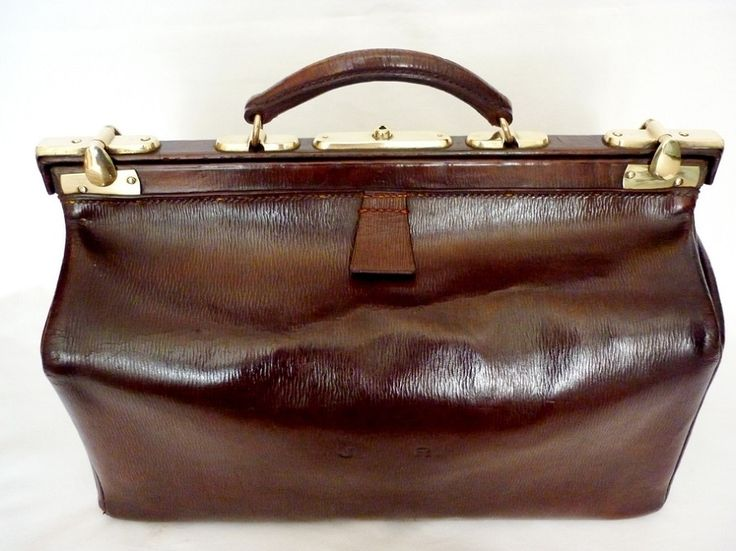 Vintage trunks, luggage & leather briefcases - Fine & Vintage - John Pound Gladstone Bag