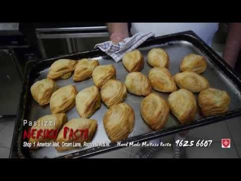 How to make the perfect Pastizzi by NERIKU PASTA in Rooty Hill NSW - YouTube