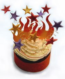 Bonfire Night Cake - For all your cake decorating supplies, please visit craftcompany.co.uk