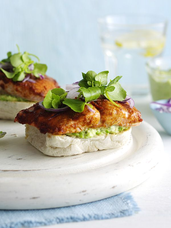 This healthy open sandwich is packed with delicious, fresh flavours but is ready in just 20 minutes and under 500 calories