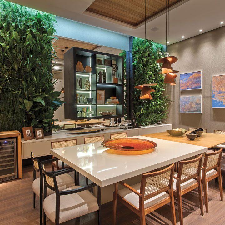 Attractive Jantar Gourmet De Adriana Bellão Na Campinas Decor 2015. Veja Todos Os  Ambientes No Site! #campinasdecor2015 #mostra #decoracao #decor #interiores  ...