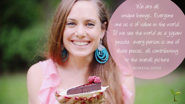 Beautiful words from her soul... #rowenajayne #yogi #yoga #rawfood #rawblend