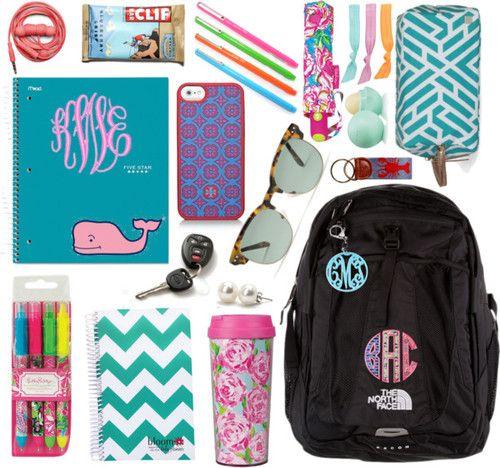 love the bookbag w/ applique