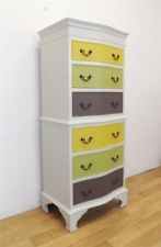 Bevan Funnell chest of drawers Georgian style contemporary twist vintage upcycle