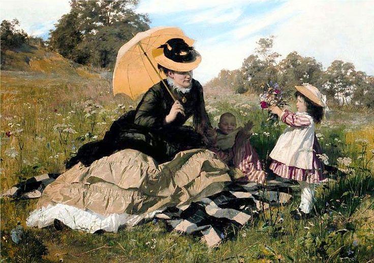 Ένα στεφάνι στη μαμά (1876)