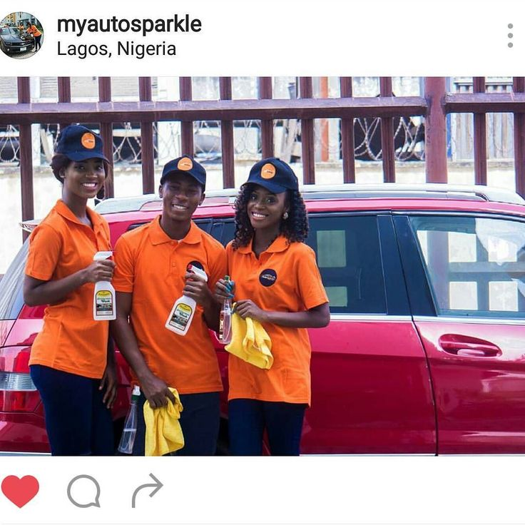 Need your car pampered by these Queens and kings behind the scene? Please holla @myautosparkle by carsfromnaija