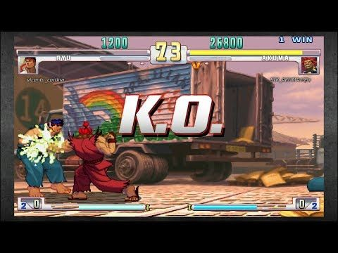 Street Fighter III 3rd Strike: Online Matches #22 (PS3) (1080p 60fps) - YouTube