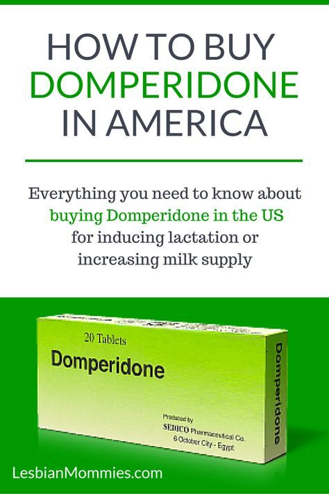 What is Domperidone and how does it help with milk production?  Domperidone was originally created to treat individuals with gastric reflux and severe nausea, however it has a beneficial side effect for those looking to induce lactation or produce more milk.  Domperidone increases prolactin levels, the hormone that increases milk production.