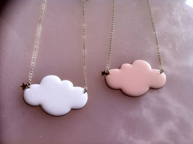 cloud necklaces