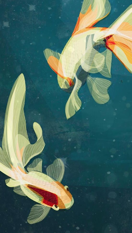 Illustrations by Kerry Hyndman Born on the cusp--getting in touch with my Pisces side.