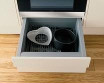 Built-Under Oven Housing Storage Drawer