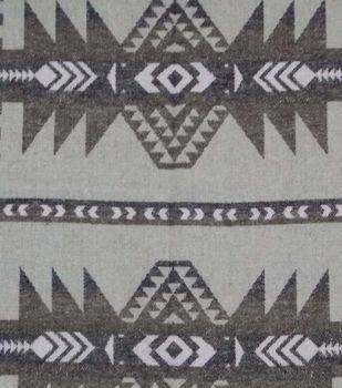 Southwest Fabric- Aztec Brown Beige Jacquard