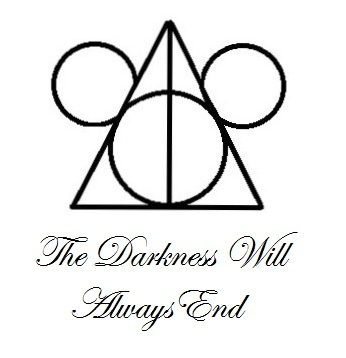 Disney and Harry Potter are very important to me and it's important to remember that the darkness will always end. I'm getting this tattooed soon.