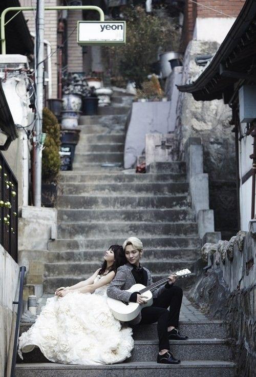 "Key and Yagi Arisa's Wedding Photos for ""We Got Married Global Edition"" Revealed | Soompi"